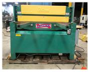 "2002 NATIONAL MODEL NH-4825 HYDRAULIC SHEAR, 1/4"" x 48"""