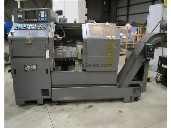 1993 HARDINGE MODEL GT-27SP SUPER PRECISION GANG TOOL CNC LATHE, 5C Collet