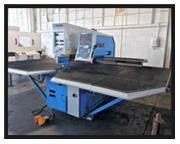 "EUROMAC HYD CNC PUNCHING MACHINE, ZX 1250/30/2000, 33 ton 50"" throat"