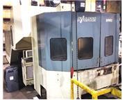2000 Nigata SPN-63 CNC Horizontal Machinery Center w/Faunc  16i-M