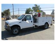 2003 Ford F-450 XL 12 ft. Mechanics Service / Utility Truck CARB OK