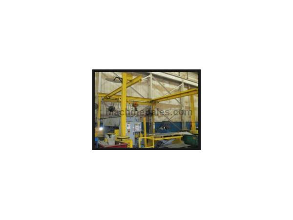 OMH 1/2 TON FREE STANDING POWERED OVERHEAD BRIDGE CRANE, Powered chain lift