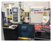 2013 Romi GL 280M CNC Turning Center W/ Live Tool Capability
