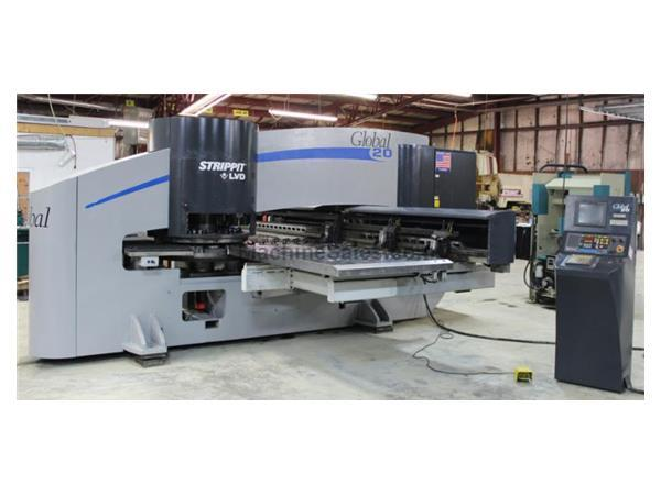 Strippit Global 1225/20 CNC Turret Punch Machine,