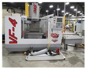 "1998 Haas VF-4APC Vertical Machining Center with Pallets, 50"" X 20&quo"