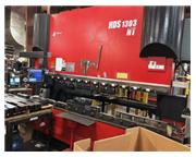 "143 TON X 127"" AMADA HDS-1303NT DOWN ACTING SERVO/HYDRAULIC PRESS BRAK"