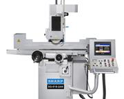"NEW 8"" x 20"" SHARP SG-820-2AN AUTOMATIC SURFACE GRINDER WITH NC DOWNFEED"
