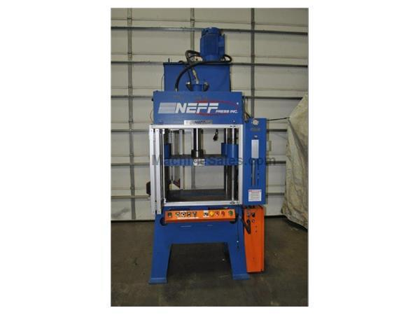 Used 29 5 TON NEFF 4 POST HYDRAULIC PRESS 2004 for sale - 133724
