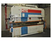 125 Ton x 12′ HTC Hydraulic Press Brake 24 in cnc backgage
