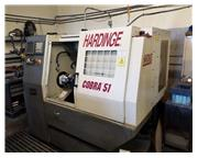 HARDINGE COBRA 51 CNC LATHE