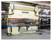 135 Ton, Cincinnati # 135CBII10 , 12' OA, foot pedal, dual palm control on ram, '01, #A538
