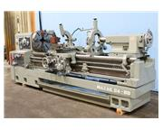"24"" Swing 80"" Centers Mazak REX 24-80 ENGINE LATHE, Inch/Metric, Taper, 34 Jaw,"