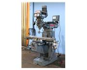 "48"" Table 3HP Spindle Clausing-Kondia FV-1 VERTICAL MILL, Vari-Speed, R-8, Acurite 3-"