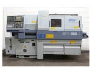 "1.25"" Dia. Star SV-32J CNC SWISS TYPE LATHE, Fanuc 18iT, LNS Mini-Sprint, Chip Convey"