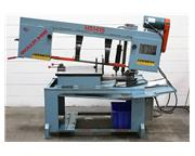 """18"""" Width 14"""" Height Roll-In HS1418 HORIZONTAL BAND SAW, Mitering, 2 HP, 1"""""""