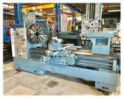 "40"" Swing 80"" Centers Lansing G ENGINE LATHE, Inch/Metric, Gap, 6-3/8"" Hole"