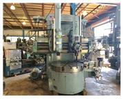 "54"" Table 62"" Swing Bullard CUTMASTER VERTICAL BORING MILL, Ram Turret  Sidehead"