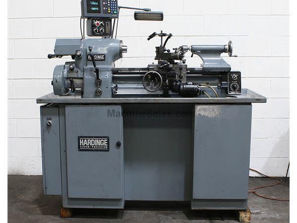 Used Lathes Engine Lathe For Sale Precision Lathes Tool Room >> Used 11 Swing 18 Centers Hardinge Hlv H Precision Engine Lathe