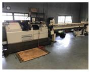 "1"" Dia. Citizen E-25J CNC SWISS TYPE LATHE, Live Tool, Subspindle, FMB Barloader"