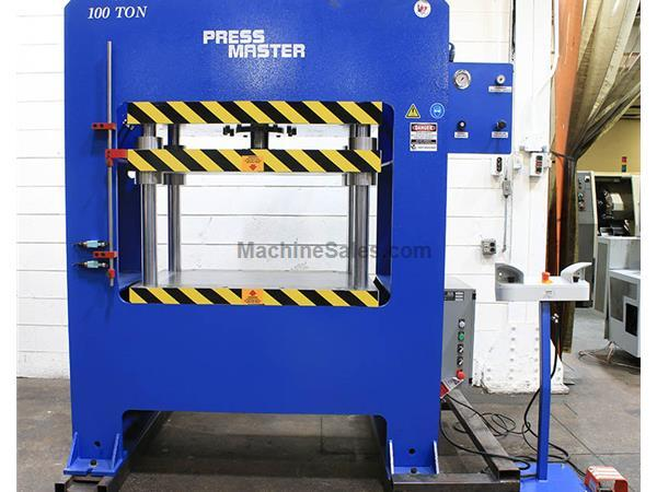 "100 Ton 15"" Stroke Pressmaster 4PP-100 HYDRAULIC PRESS"
