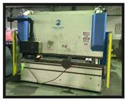 FISCHER 176 TON x 10' HYDRAULIC CNC PRESS BRAKE DAP16 / 3100E, 1999, 7-