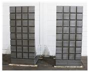 72″ HIGH, X 32″ LONG X 36″ WIDE T-SLOTTED ANGLE PLATES