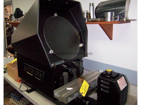 "14"" Screen Suburban MASTERVIEW MV-14 MADE IN USA OPTICAL COMPARATOR, LED DIGITALS, LENS, SURF. ILL."