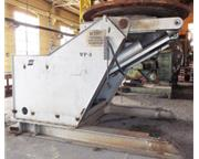 "78500 lb. Esab # PEMA-3500F , welding positioner, 120"" table, 1993, #7550XJVLester"