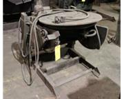 1000 lb. Ransome # 10P , welding positioner, #6075
