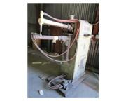 "50 KVA Acme # 3-24-50 , rocker arm type spot welder, 24"" throat, pneumatic clamping,"