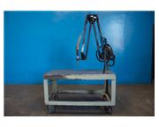 "Flex Arm # M-60 , pneumatic tapping station, 5/16"" capacity, 24"" x 48"" tabl"