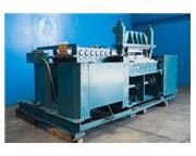 """Diamond , stove pipe heat duct forming line, 12 stand, 4"""" -30"""" roll space, 1&quo"""