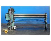 6' x 16 ga. Milton # M400 , initial pinch power roll, #6201