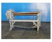 "5' x 14 ga. Niagara # 353 , initial pinch, 4"" roll diameter, 15 FPM, manual drop end,"