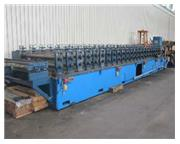 "24 Stand, ASC , rollforming line, 4"" shaft diameter, 60"" roll space, 20' conveyo"