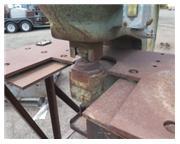 "150 Ton, Whitney # 715-029 , hydraulic portable C-frame punch, 1-5/8"" stroke, 10 SPM,"