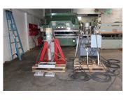 150/100 Ton, Whitney /Franklin # 150-014/W5100X18 , dual hyd portable c-frame punch, #7882