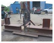 "150 Ton, Whitney # 715-024 , hydraulic portable C-frame punch, 1-5/8"" stroke, 10 SPM,"