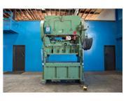 """125 Ton, Verson # 566 , SSDC press, 6"""" stroke, 3"""" ram adj., 10-1/2"""" SH, 65&"""