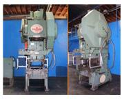 110 Ton, Federal # 110 , OBI punch press, air clutch & brake, power ram adjustment, #6050