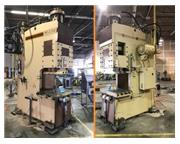 "200 Ton, Standard # DC-200 , C-frame hydraulic press, 12"" str, 48"" x 24"" be"