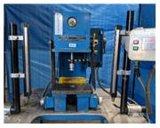 "2 Ton, Advanced # CPB-2-E , hydraulic C-frame press, 5"" stroke, 4-1/2"" throat, 8"