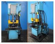 """50 Ton, Neff # H50 , 4-post hydraulic press, 12"""" stroke, 15"""" DL, 22-1/2"""" x"""