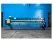 Maplewood #OV-10, round pipe roller machine, 24 ga. x 10', 95 FPM, 1-1/2 HP, #7191