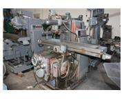 "Kearney & Trecker # 205S-12 , horizontal milling machine, 12"" x 56"" table, 5 HP,"