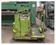 Stand Up Tow Tug, Clark # ERT2-TUGGER , 700 lb. capacity, hand controls, 744 hours, #7982