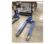 """Pallet Jack, Grainger # 5LA79 , 4400 lb., 6"""" x 48"""" forks, #8071"""