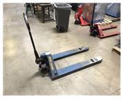 """Pallet Jack, Blue Giant # 02-10313 , 5500 lbs., 6"""" x 48"""" forks, #8068"""