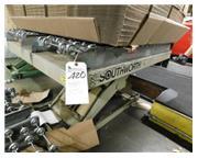 """4000 lb. Southworth , hyd scissor lift, 54"""" x 42"""" platform, elec foot pedal, #82"""