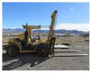 """20000 lb. Hyster # H200H , forklift, diesel, 212"""" lift, 10' L x 8"""" W forks, #790"""